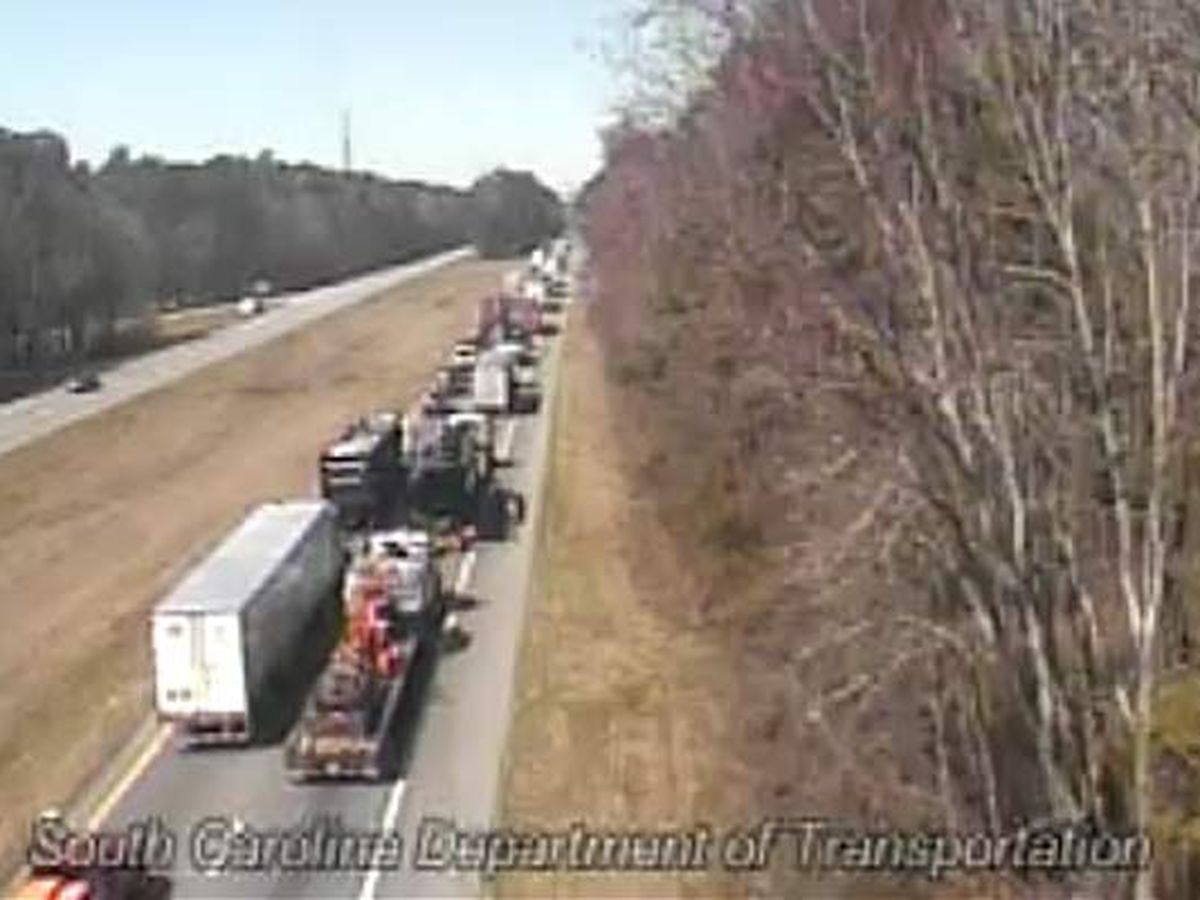 One I-26 westbound lane open near Ridgeville following 2 crashes