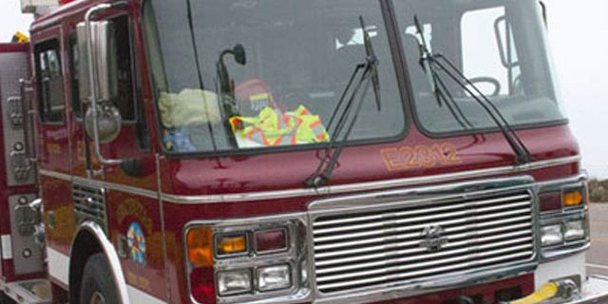 Crews battle structure fire off Hwy. 17