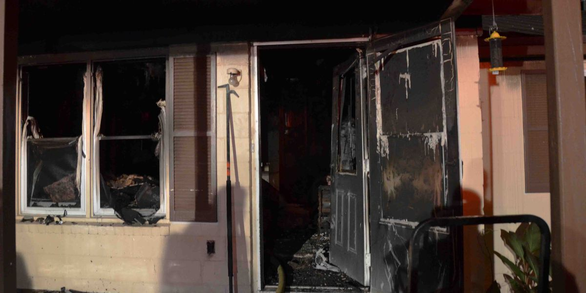 Son, police officer rescue father from Lowcountry home fire