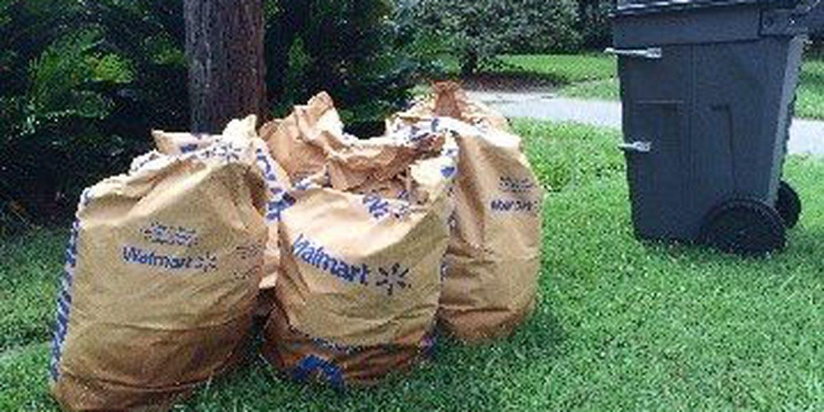 Change in yard waste pickup on hold in North Charleston
