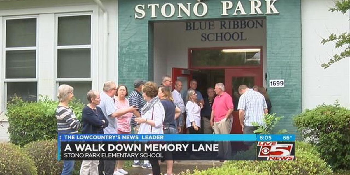 Past students visit Stono Park Elementary before demolition