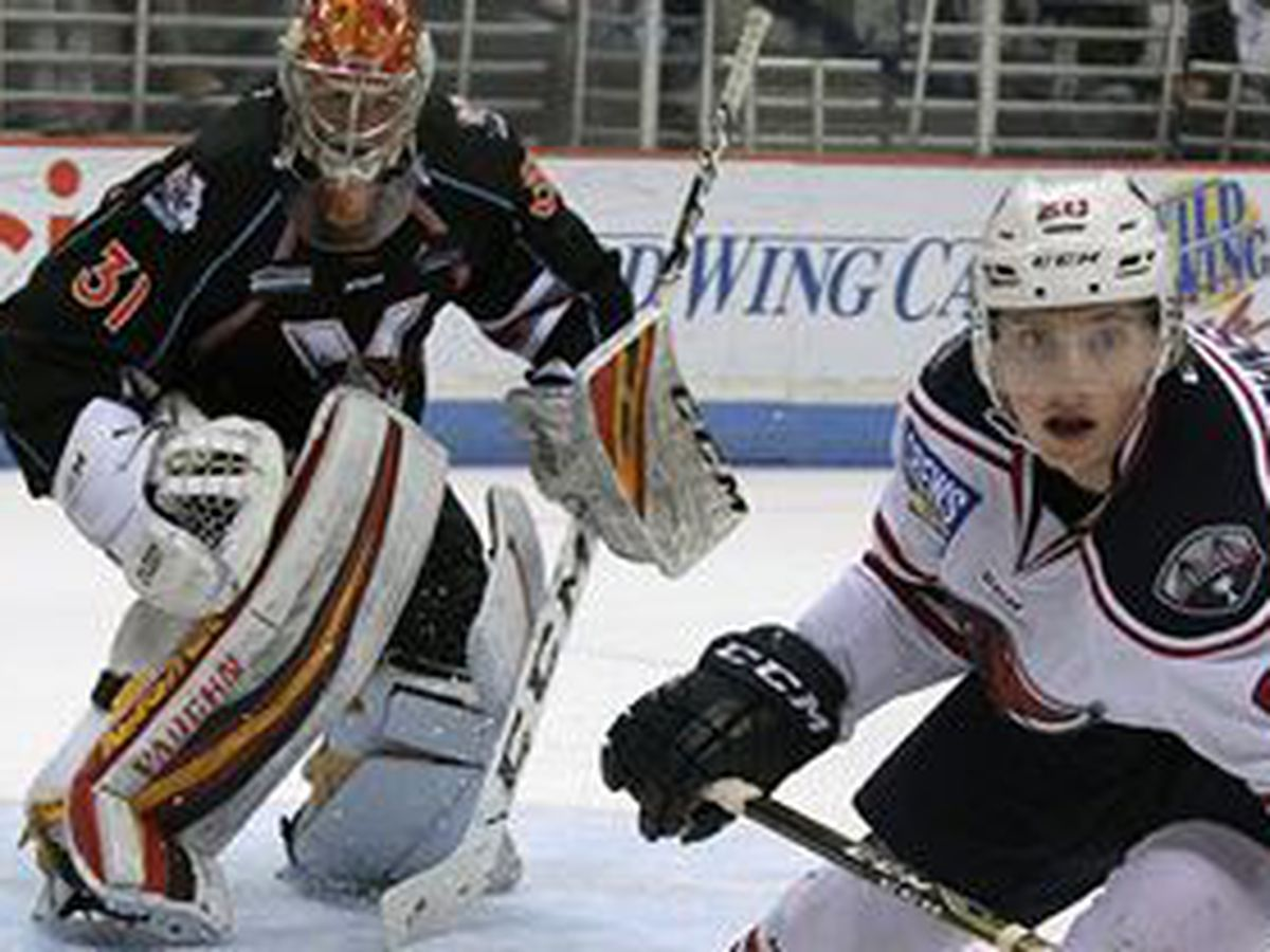 Four First Period Goals Send Stingrays Past KC