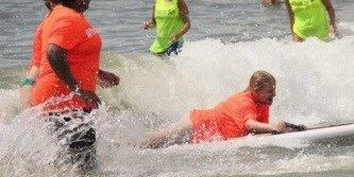 Adaptive Surfing comes to Folly Beach State Park