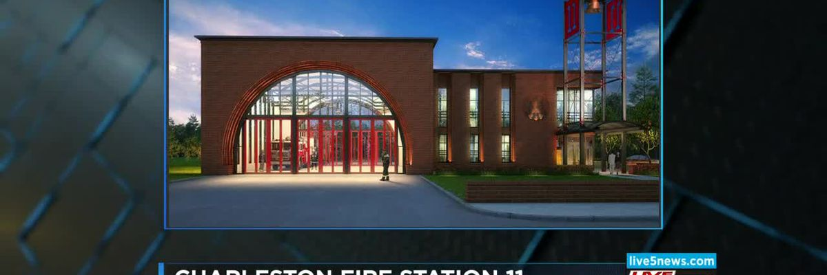 VIDEO: Construction ahead of schedule for new fire station next to Charleston 9 Memorial Park