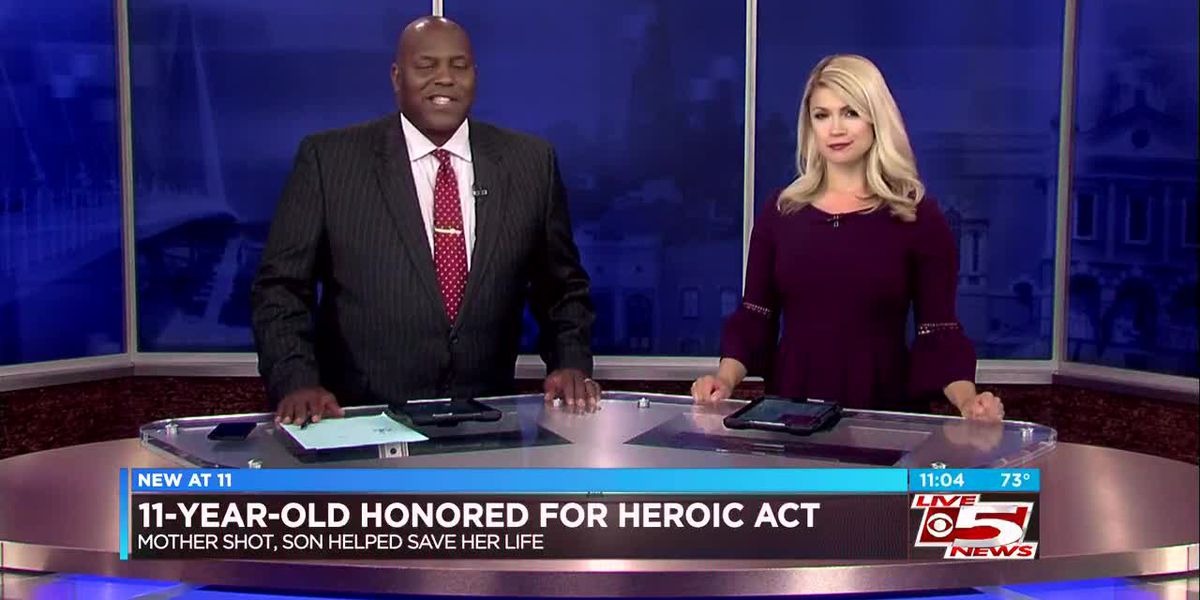 VIDEO: Lowcountry town recognizes 11-year-old boy for saving mother's life