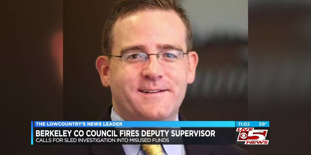 Berkeley County Council fires deputy supervisor, calls for SLED investigation