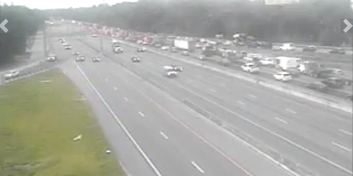 A crash on I-26 near Aviation Avenue has two left eastbound lanes blocked, expect delays
