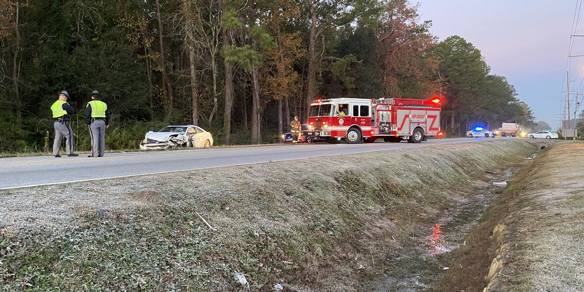 Troopers: Hwy. 78 reopened after crash closes portion of road