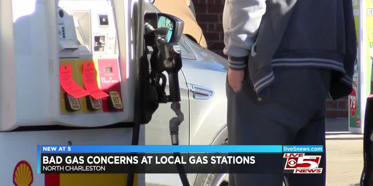 VIDEO: N. Charleston gas stations ordered to stop sale of some gas grades over water in tanks