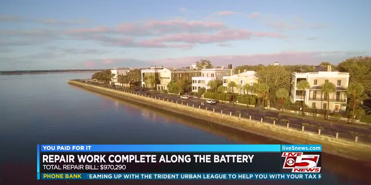 You Paid For It: Charleston Battery repairs following Hurricane Irma