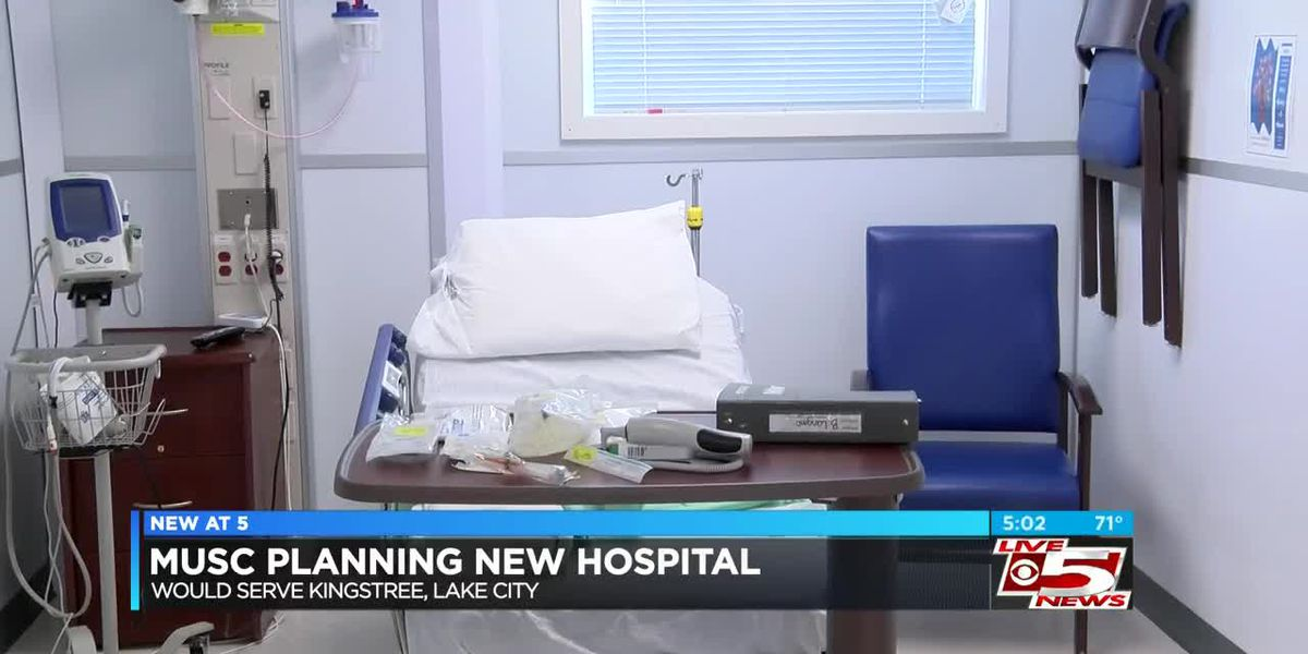 VIDEO: Proposed MUSC hospital marks 'new hope' for Williamsburg County healthcare