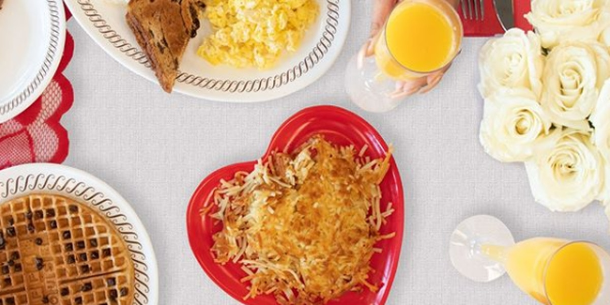 Waffle House accepting Valentine's Day reservations