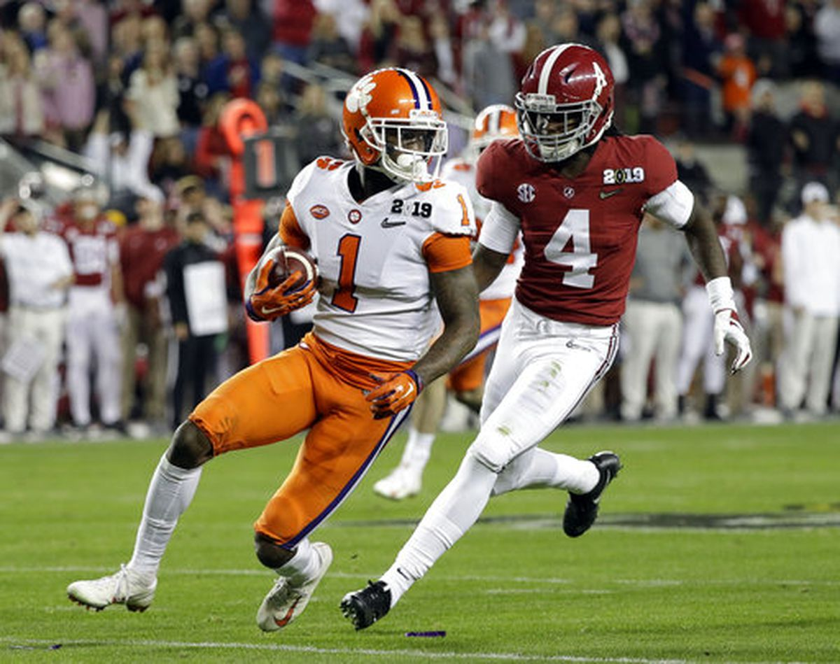 Clemson S Mullen Selected By Raiders On Day 2 Of 2019 Nfl Draft