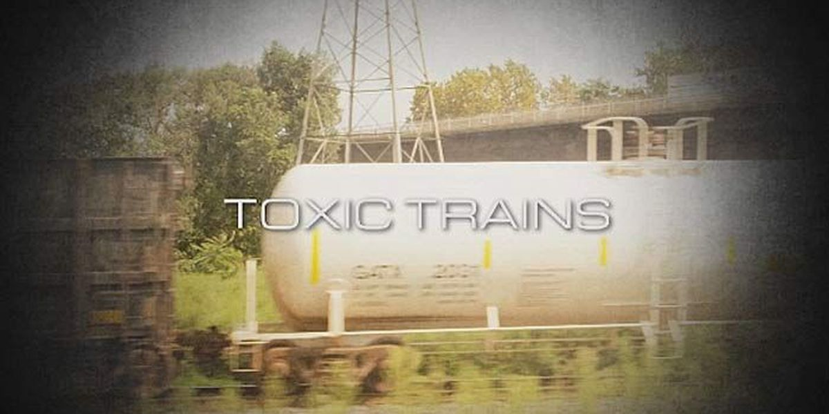 Live 5 Investigates: Trains carry deadly chemicals through Tri-County