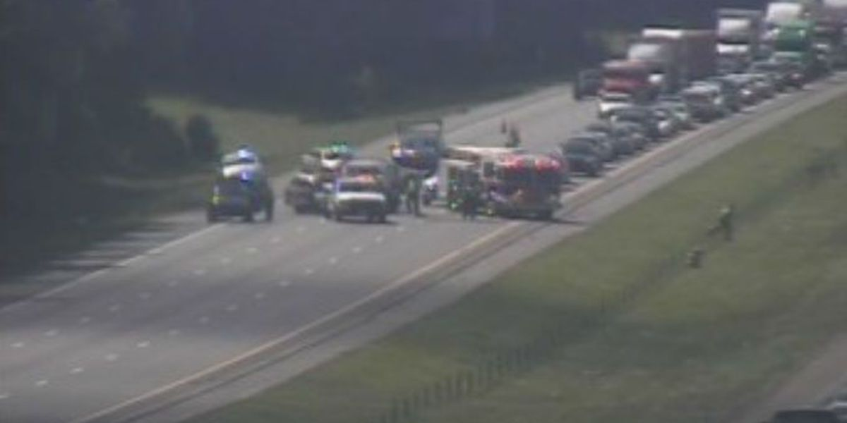 I-26 reopens after accident near College Park Rd.