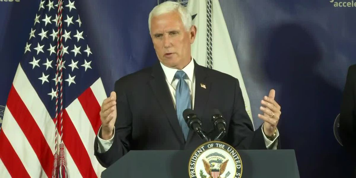 RAW VIDEO: Vice President Mike Pence holds news conference on safely reopening schools