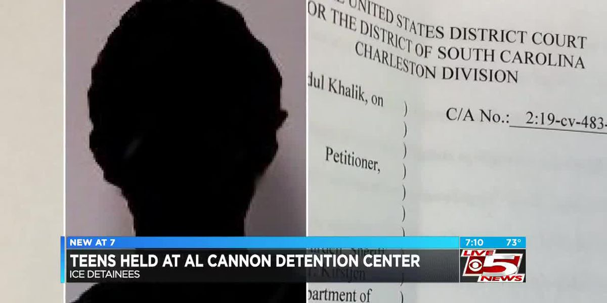 Federal lawsuits claim teen ICE detainees being held unlawfully in Charleston County jail