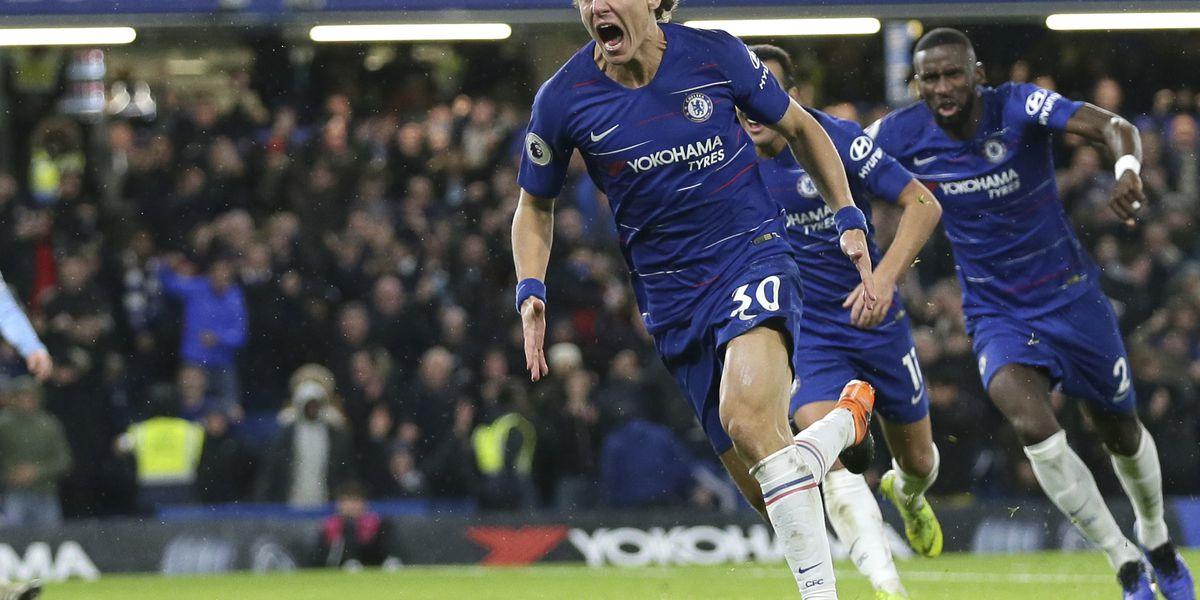 Man City loses 1st game of Premier League season at Chelsea