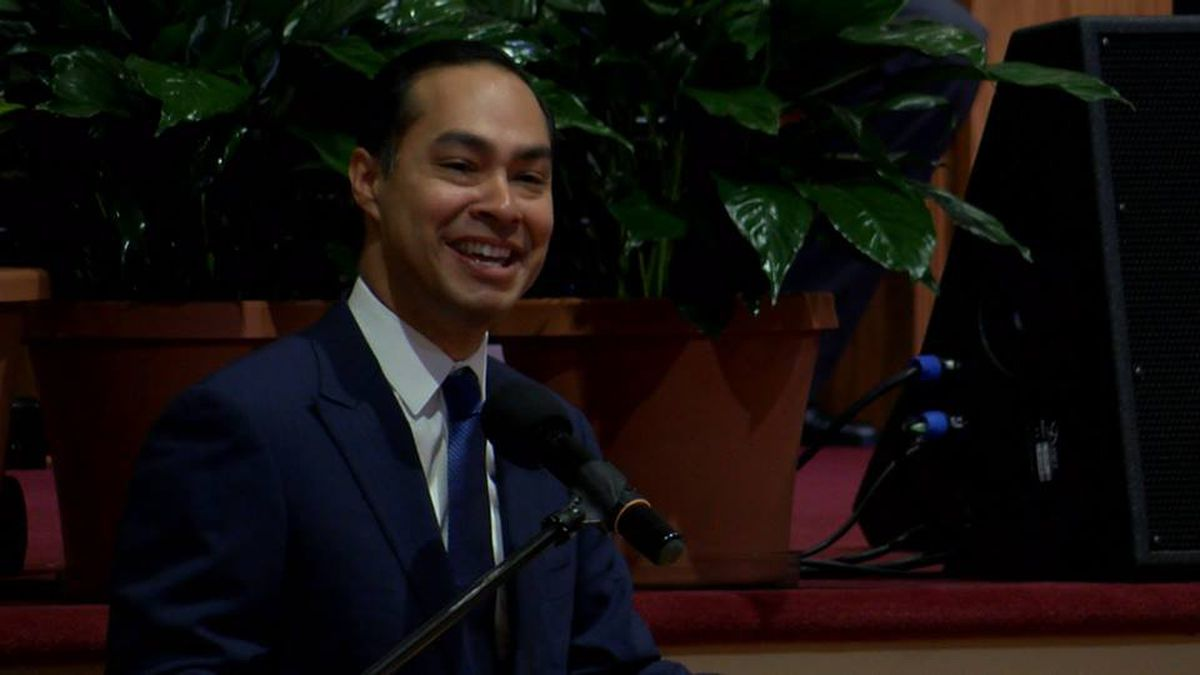Presidential candidate Julian Castro visits Lowcountry