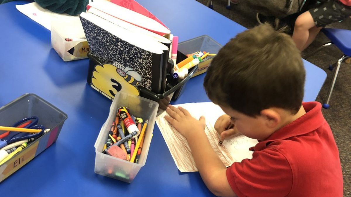 Classroom Champions: Teacher wants writing journals for kindergartners at Clay Hill