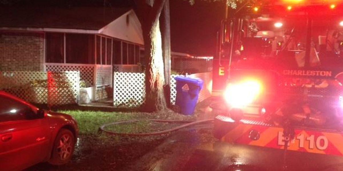 Emergency crews extinguish house fire in West Ashley