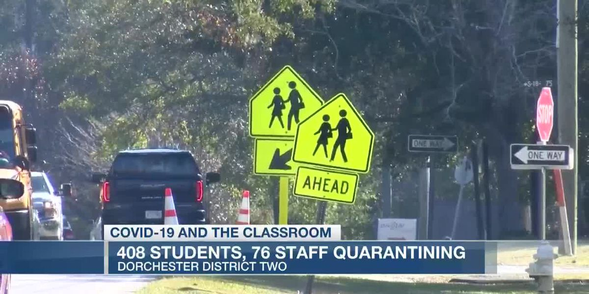 VIDEO: Dorchester District 2 report shows hundreds of students in quarantine