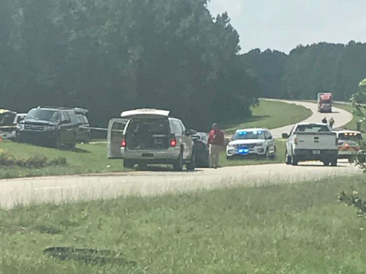 Moncks Corner PD working traffic-related death on Hwy 52