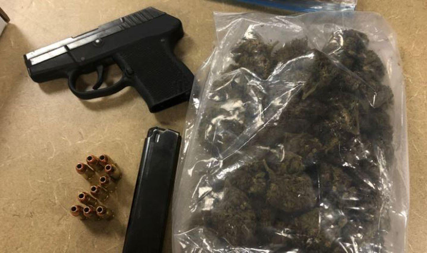 Drugs, gun found in man's car during traffic stop, police say