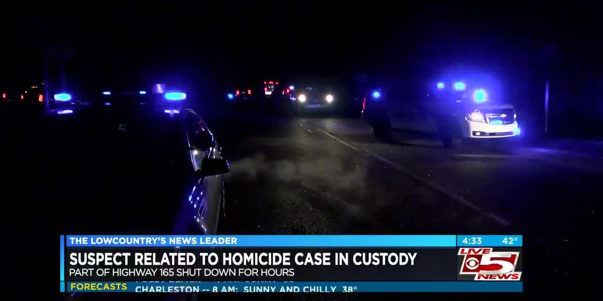 VIDEO: Suspect connected to Summerville homicide case in custody
