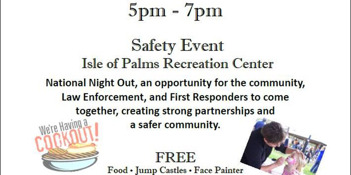 Isle of Palms PD to host community event