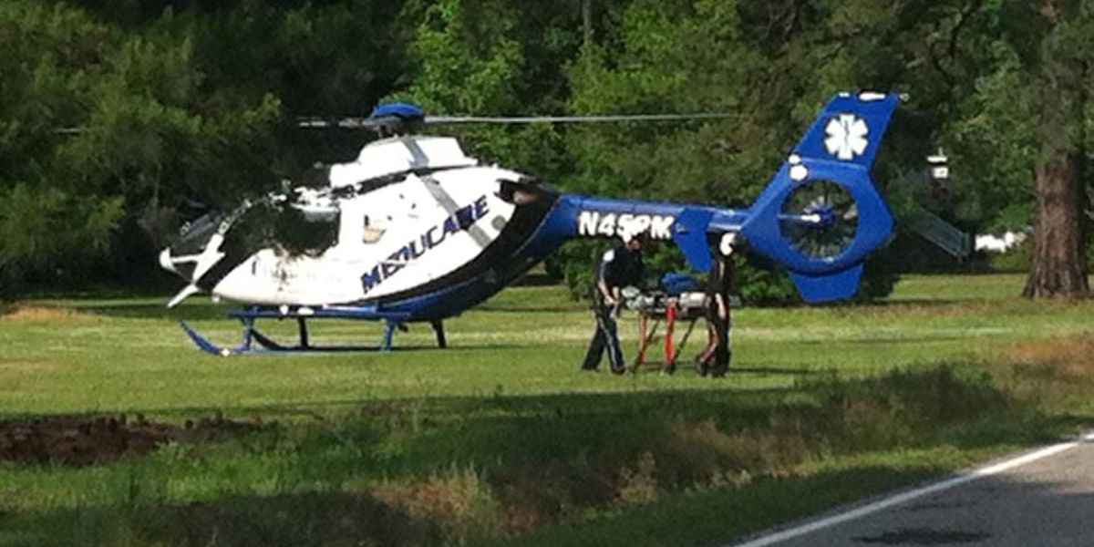 Emergency crews clear scene of Moncks Corner accident on Cooper Store Rd.