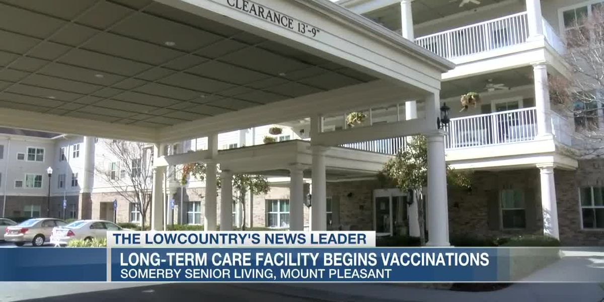 VIDEO: Mt. Pleasant longterm facility receiving first round of vaccines