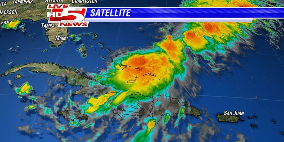 Tropical Storm Cristobal slowing movement, gaining strength