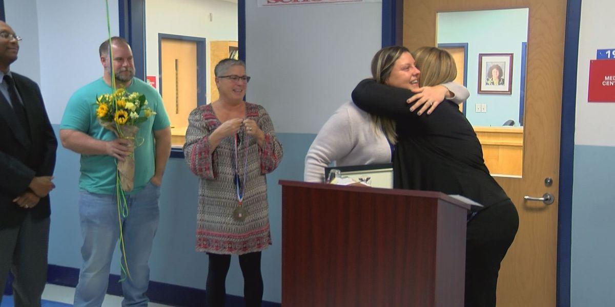Liberty Hill Academy counselor receives national service award