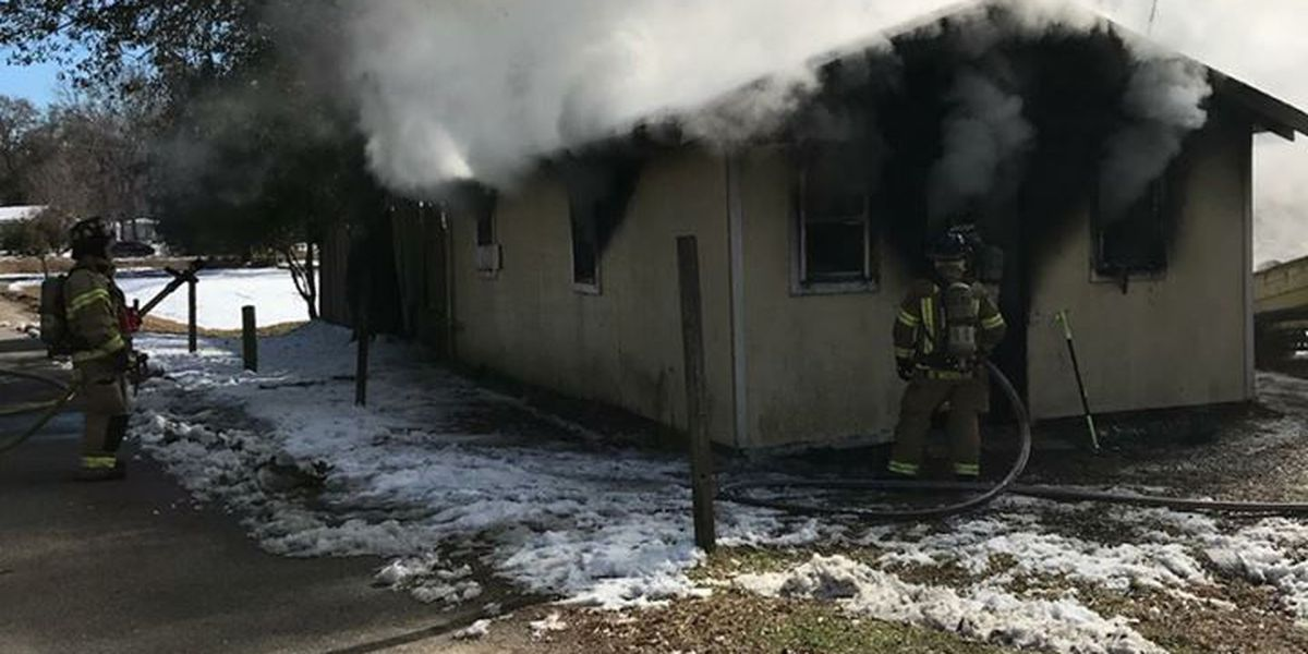 Mt. Pleasant home suffers heavy damage in fire Sunday