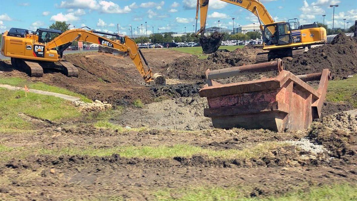 Parking expansion project begins at Charleston International Airport