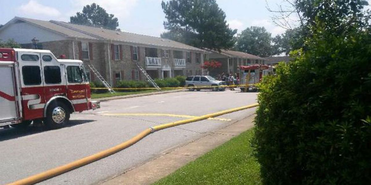 Fire damages several units at Summerville apartment complex