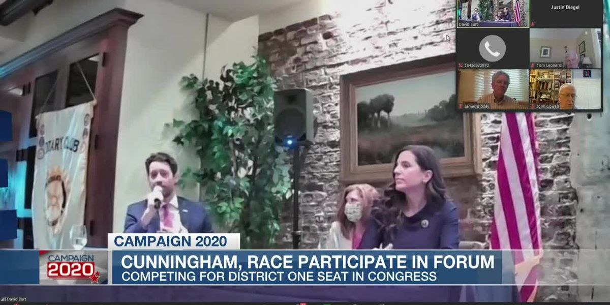 VIDEO: Cunningham, Mace take part in candidate forum