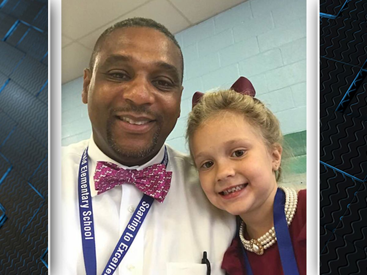 Principal in Georgetown County promotes dressing for success at elementary school with ties and pearls