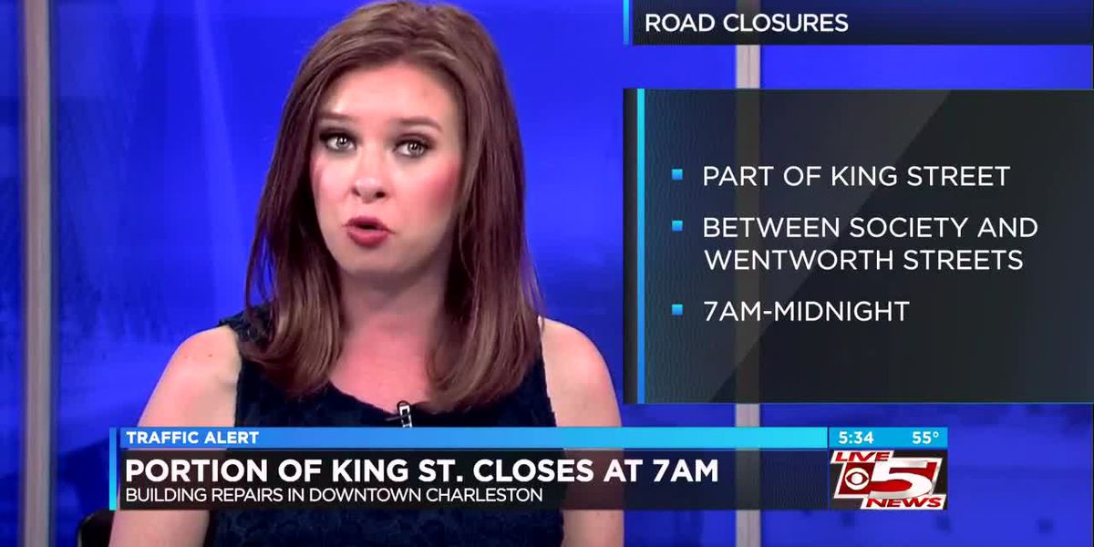 VIDEO: Building repair to close portion of King Street this week