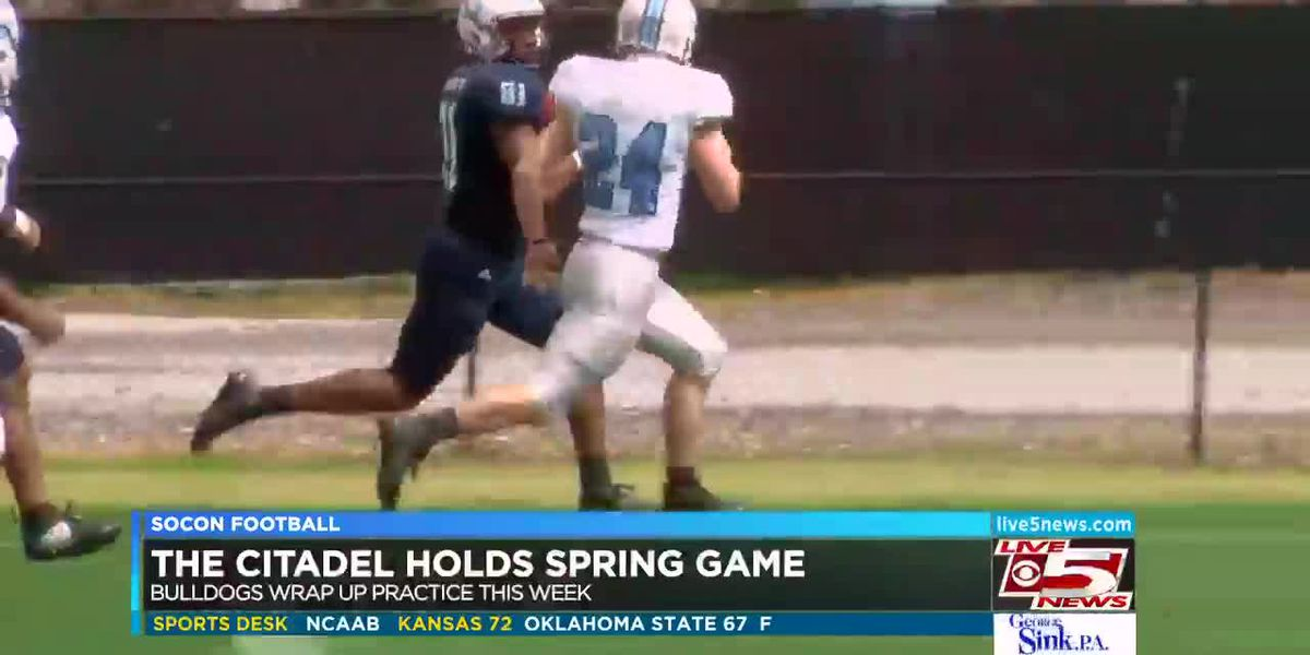 VIDEO: The Citadel holds Spring Game