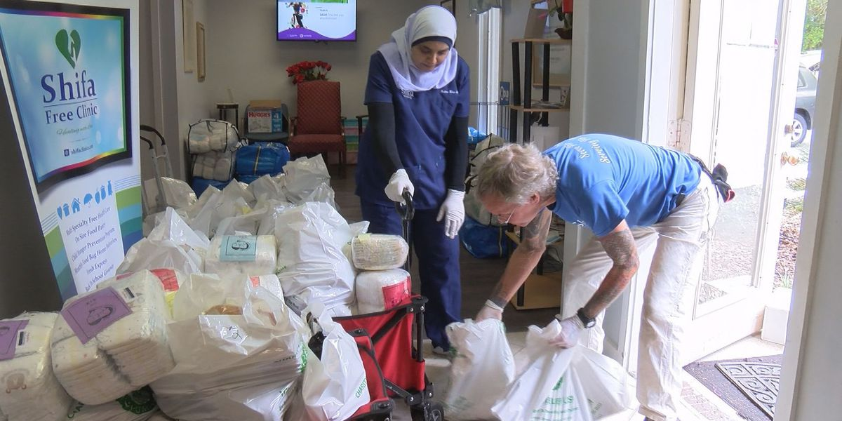 Lowcountry Strong: Clinic providing medical care, food to people in need