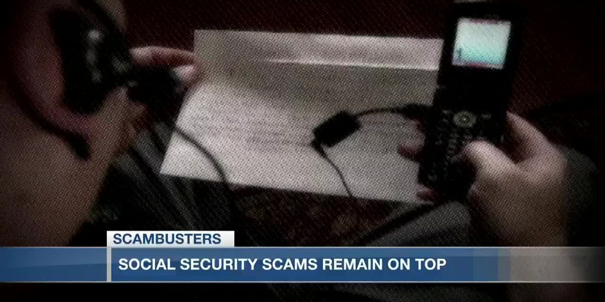 VIDEO: Live 5 Scambusters: Scam artists impersonate Social Security more than any other agency