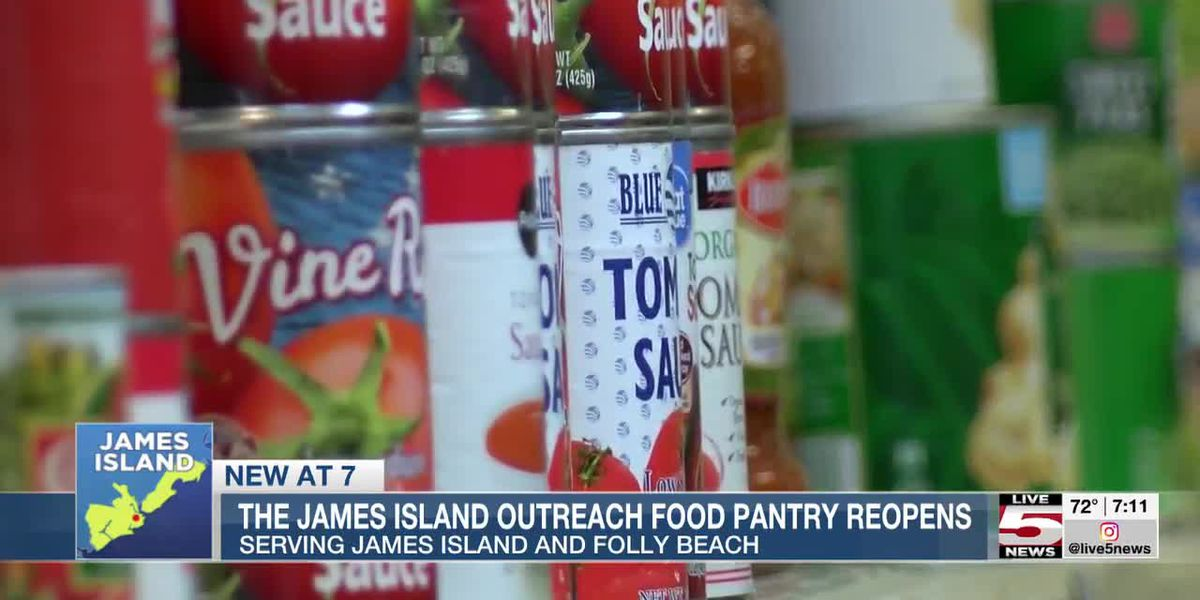 VIDEO: James Island Outreach food pantry reopening