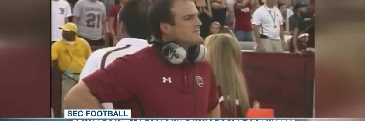 VIDEO: USC BOT approves Shane Beamer's contract