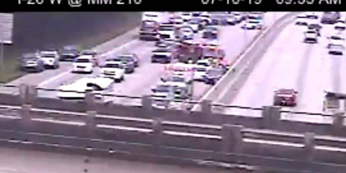 Three crashes snarl traffic in eastbound lanes of I-26