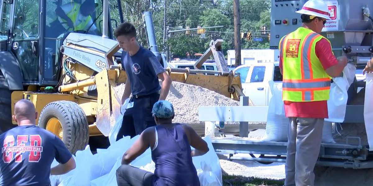 Georgetown Co. residents prepare for possible 'historic' flooding