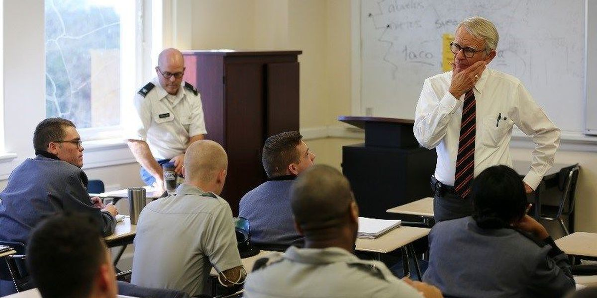 Former Charleston mayor Riley leads first class at The Citadel
