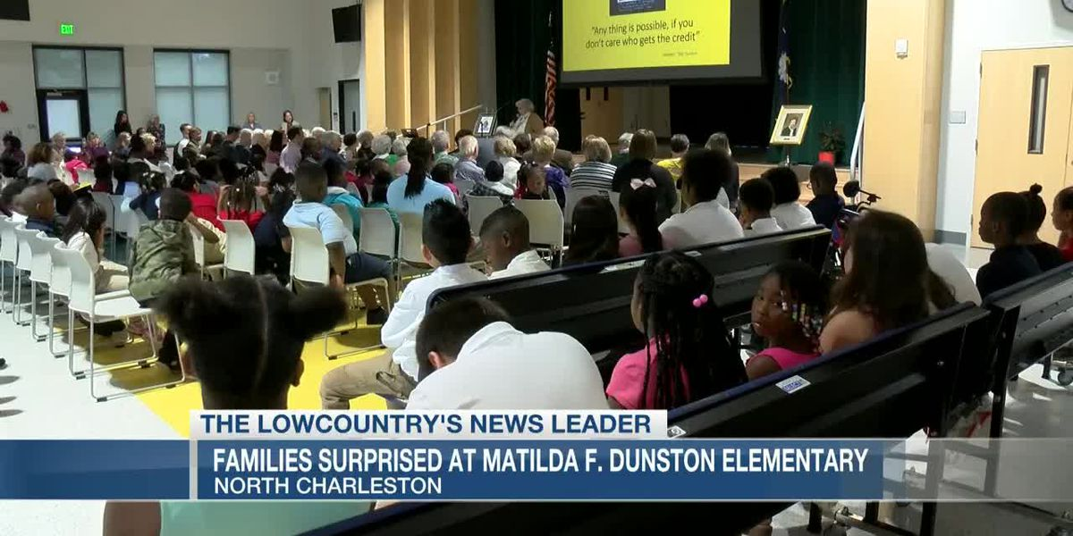 VIDEO: Surprise assembly held at Lowcountry elementary school