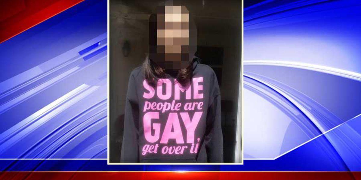 CCSD: Staff made 'hasty, incorrect decision' regarding student's pro-gay sweatshirt
